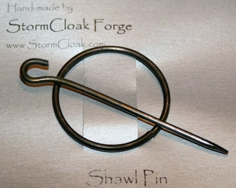 Steel Wire Shawl Pin