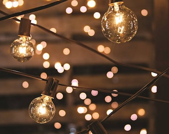 Outdoor lighting etsy globe lights string lights party lighting outdoor indoor paper lantern wholesale cafe lights bistro wedding patio mozeypictures Choice Image