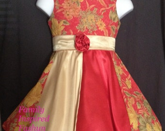 Girls special occasion dress, pretty dress