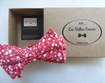 Cotton fabric Amaury knotted bow