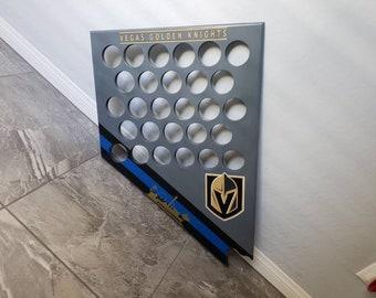 Vegas Golden Knights Puck Display Blue Line