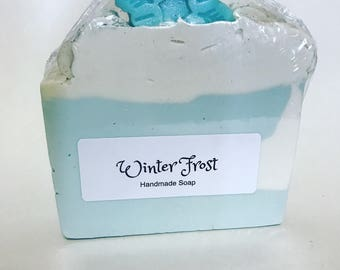 Winter Frost (handmade cold process soap)