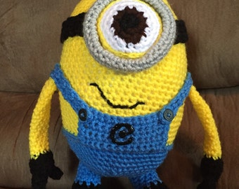 Crocheted Minion
