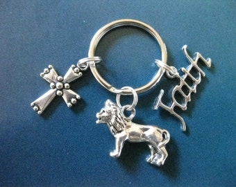 Lion Of The Tribe Of Judah Key Ring