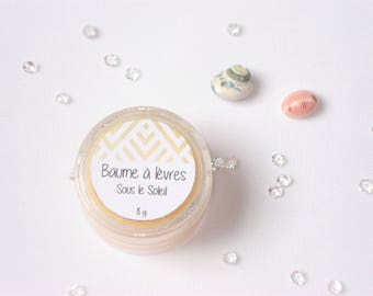 Lip balm in the Sun - 100% natural shea butter - 10 ml or 8 g
