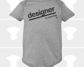 Designer In Training - Baby Onesie