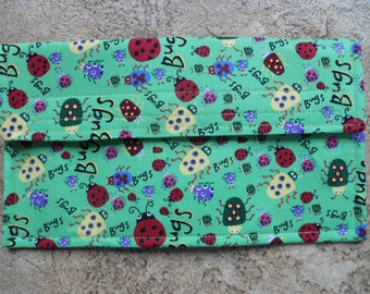 Bugs Bugs and more Bugs Coupon Holder / Organizer / Wallet