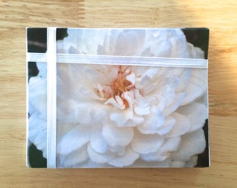 "Handmade Note Cards ""Rose Petals"" Original Design: 10 Cards and 10 Envelopes - Flowers and Nature Stationery"