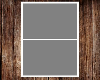Template - No.1 - INSTANT DOWNLOAD - Storyboard Template, Photo Collage Template - 8,5 x 11