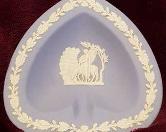 Wedgwood blue ashtray