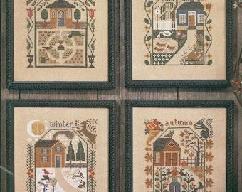 Prairie Seasons by Prairie Schooler Counted Cross Stitch Pattern/Chart