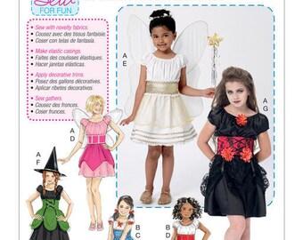 Mc Call's M7453 child costume sewing pattern