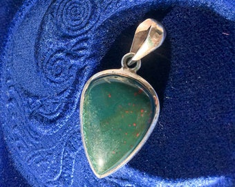 Bloodstone Pendant - A stone for Healing