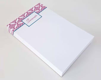 Note Pad | Mothers Day Gift | Notepad Gift | DIAMOND PATTERN | To Do List Note Pad | Custom Notepad | Personalized To Do List