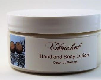 Coconut Breeze Shea, Mango and Cocoa Butter Hand and Body Lotion