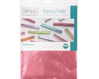 Therm O Web - Fancy Foils - 6 x 8 - Bubblegum