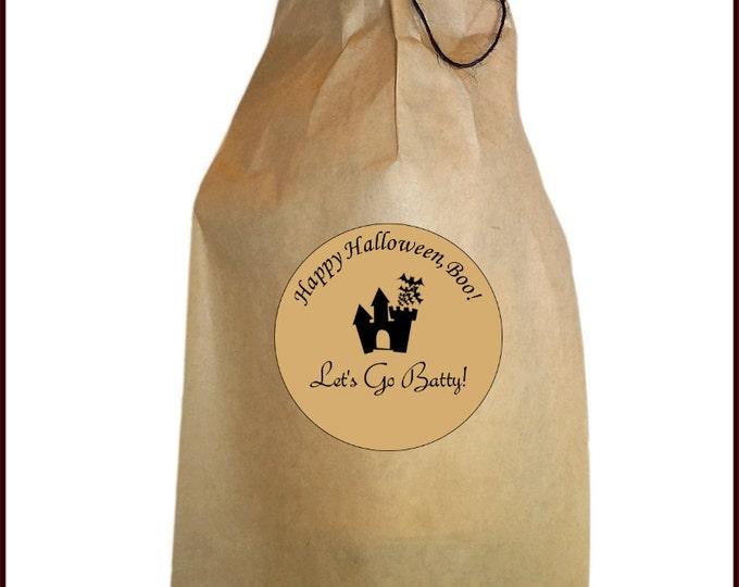 Halloween Wine Bag - Halloween Gift Bag