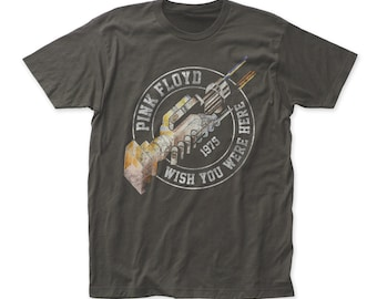 Pink Floyd wish you were here '75 soft fitted 30/1 cotton jersey tee (PF44)