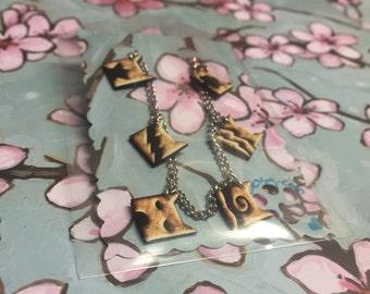 Bundle: Warrior Cat Clan Bracelet & Necklace