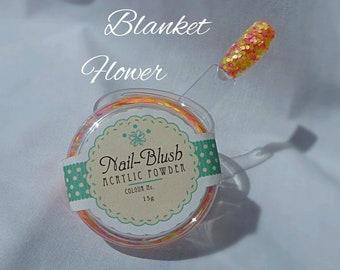 Acrylic nail powder Blanket Flower 15g by Nail-Blush