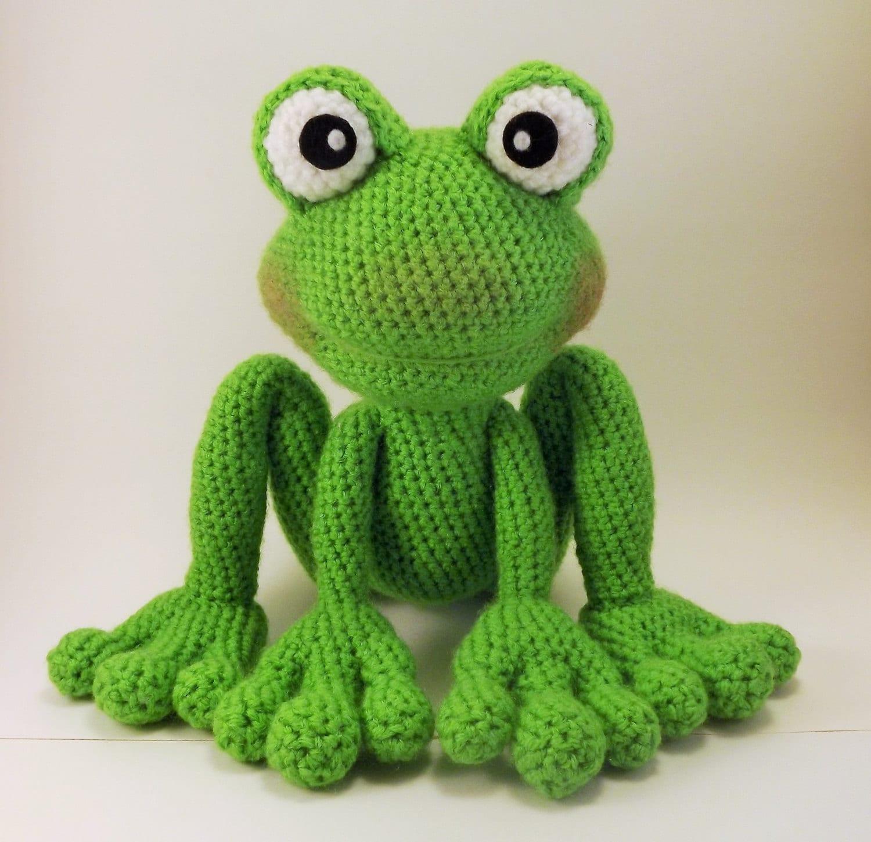 Froggy amigurumi pattern frog crochet pattern pdf file only zoom bankloansurffo Gallery