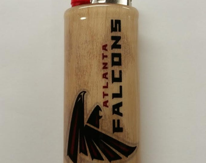 Atlanta Falcons BIC Lighter Case Holder Sleeve Cover