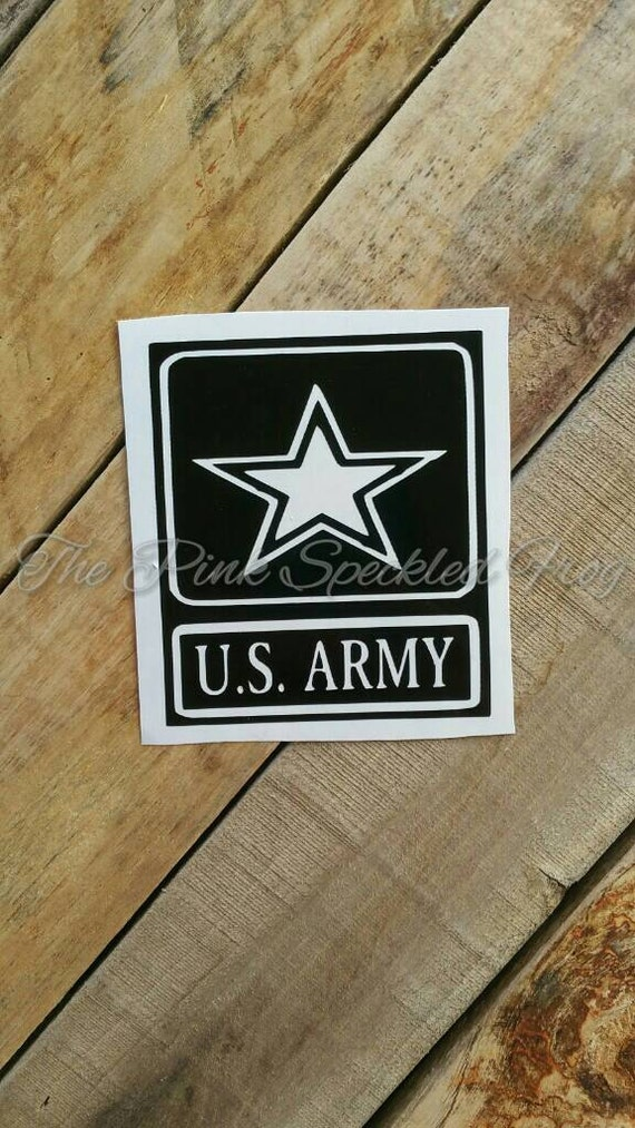 Army decals yeti cup decals car decals army vinyl