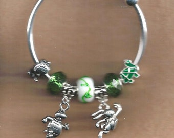 Tortoise and the Hare Euro Bracelet