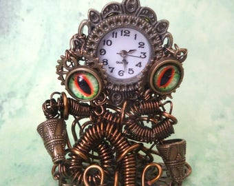 Watch for steampunk Octopus