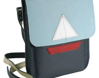 Yacht Bag Shoulder Bag Messenger Bag Nautical Bag Navy Bag