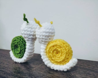 Kissing Snails | Amigurumi | Crotchet |