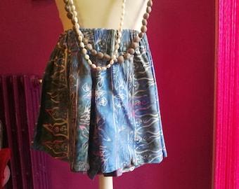 Batik Fabric Shorts
