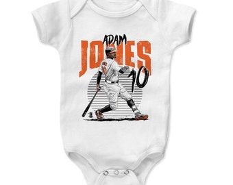 Adam Jones Baby Clothes | Baltimore Baseball | Baby Romper | Adam Jones Rise O