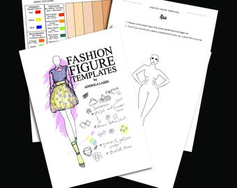 Fashion Figure Template E book