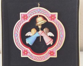 1980 Hallmark ANGELS Ringing Bell Original BOX Tree Trimmer Collection Rare!