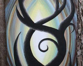 Original tree painting