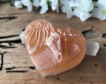 Sparkling Unicorn Bar Soap - Vegan Handmade - Body and Earth Friendly Glitter - Fruity Candy Scent
