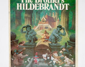 """Signed Fantasy Art """"The Brothers Hildebrandt"""" Limited Edition Book 1978 Star Wars Hobbit LOTR Gallery Exhibition Program Softcover Collect"""