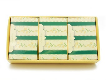Saboaria BL Chita Set of 3 Deluxe Lime Scented Soap