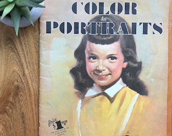 Vintage Art Magazine - How to Use Color in Portraits