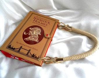 Sherlock Book Bag - 221B Baker Street - Sherlock Holmes Fan Gift - Sherlock Holmes Book Handbag