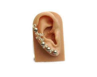Ear Cuff Light Cocoa