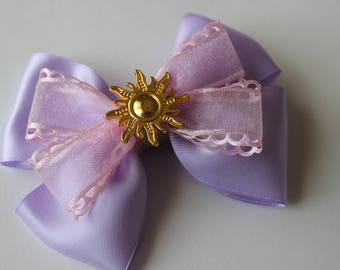 Rapunzel Inspired Boutique Bow