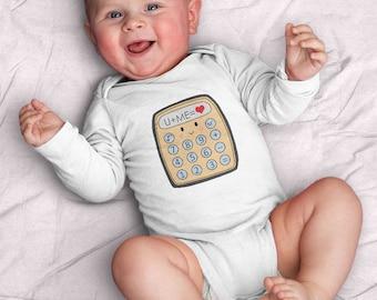 The Equation by Kathrin Legg Infant Bodysuit