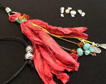 "Boho tassel necklace ""Free Spirit"""