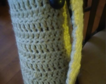 crocheted over the shoulder yoga mat carrier