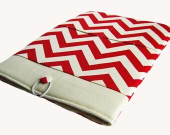 Macbook Pro Case, Macbook Pro Sleeve, 15 inch Macbook Pro Cover, 15 inch Macbook Pro Case, Laptop Sleeve, Red Chevron