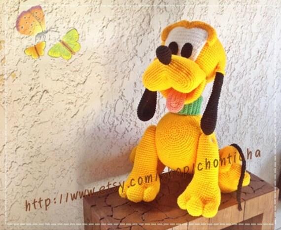 Pluto Dog 22inches Pdf Amigurumi Crochet Pattern
