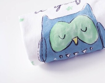 Owl Onesie and Tee | Personalized gift idea with packaging