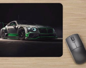 Bentley Car Mousepad/ Office Desk Accessories/ Office Gift/ Computer Gifts For Him/